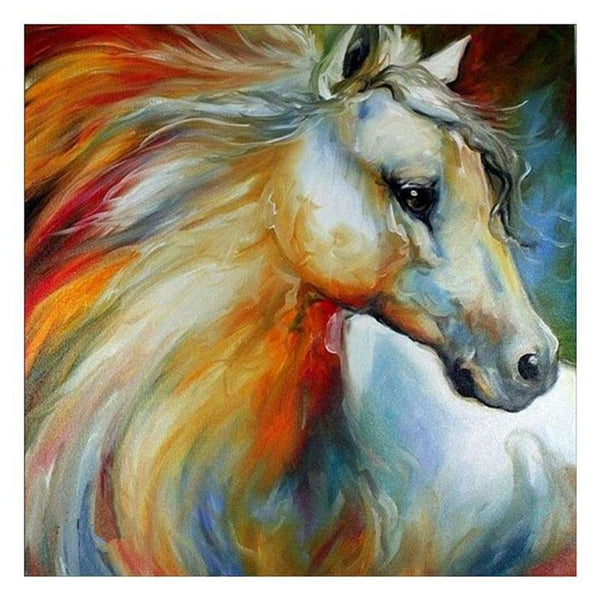 Cheap Oil Painting Styles Horse Diamond Painting Kits AF9161