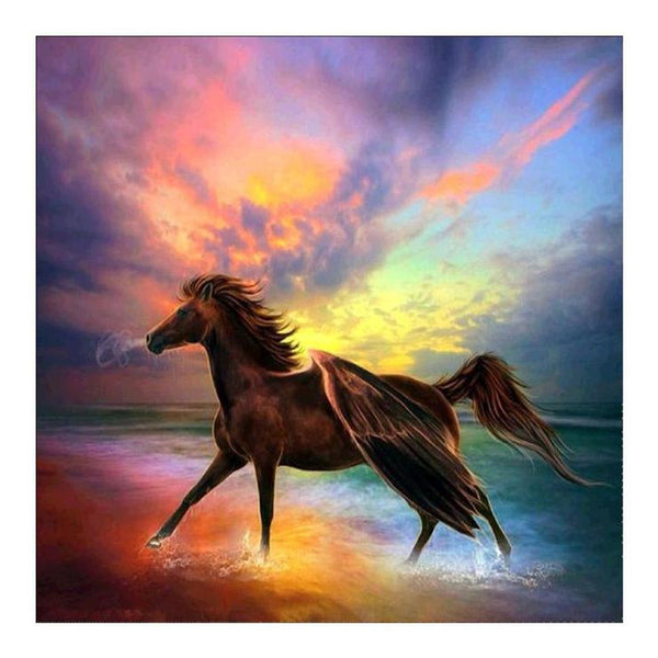 5D Diamond Painting Kits Beautiful Fantasy Series Horse AF9169