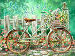 Hot Sale Bicycle 5D DIY Embroidery Cross Stitch Diamond Painting Kits NB0050