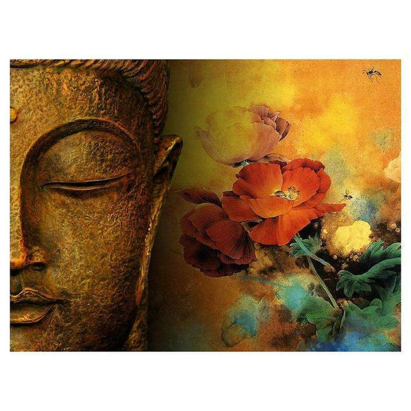 Hot Sale Buddha Buddhist Statue 5d Diy Embroidery Diamond Painting Kits QB8082