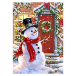 Hot Sale Cartoon Style Snowman 5d DIY Diamond Painting Kits QB8006