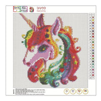 Hot Sale Dream Cartoon Unicorn Diy 5d Diamond Embroidery Kits VM3520