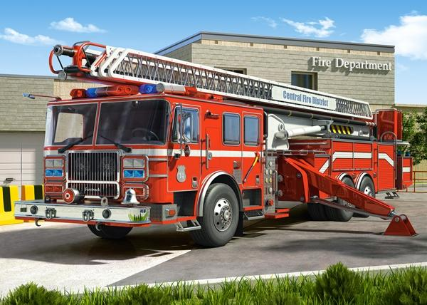 Hot Sale Fire Truck 5D DIY Embroidery Cross Stitch Diamond Painting Kits NB0047