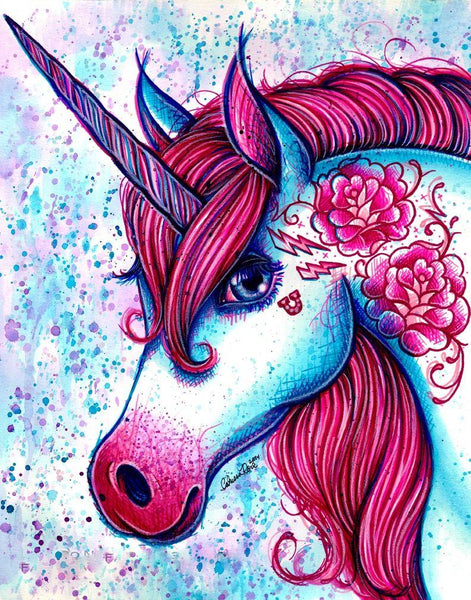 2019 5d Diy Diamond Painting Kits Dream Unicorn VM3518 (1766994083930)