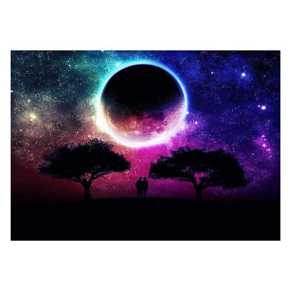 Cheap Dream Colorful Night Sky Star 5d Diy Diamond Painting Kits VM7232