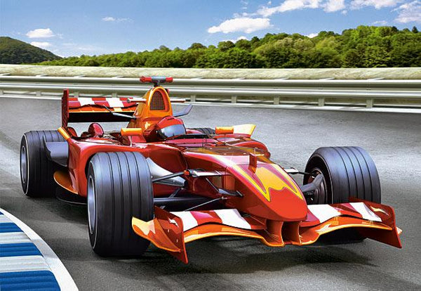 2019 5D DIY Diamond Painting Kits Formula 1 racing Car VM7586