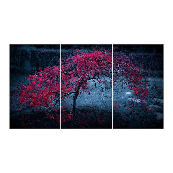 Large Multi Panel Nature Tree 5D DIY Mosaic Diamond Painting Kits QB9018