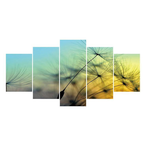 Large Size Multi Panel Dandelion 5D Diy Full Drill Diamond Painting Kits QB8121