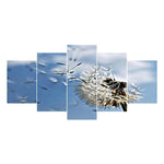 Large Size Multi Panel Dandelion 5D Diy Full Drill Diamond Painting Kits QB8124