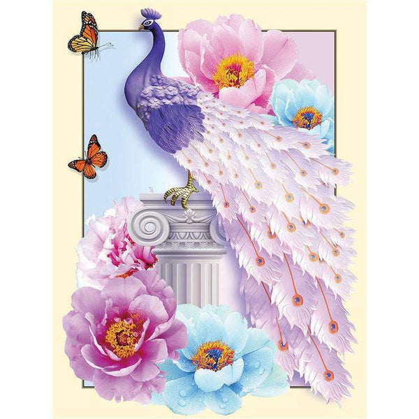 Cheap Dream Series Colorful Peacock 5d Diy Diamond Painting Kits AF9092