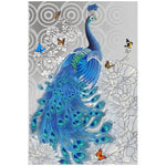 Cheap Blue  Peacock 5d Diy Diamond Painting Kits AF9083
