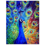 Modern Art Styles Peacock 5d Diy Diamond Painting Kits AF9086