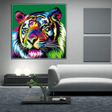 Hot Sale Special Colorful Tiger 5d Diy Diamond Painting Kits VM4187 (1767047069786)