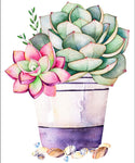 Modern Art Plant Cactus 5D Diy Embroidery Cross Stitch Diamond Painting Kits NA0348