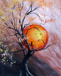 5D DIY Diamond Painting Embroidery Kits Moon Tree VM92064