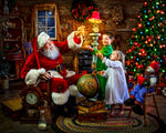 Santa Claus 5D DIY Diamond Painting Kits  NW91008