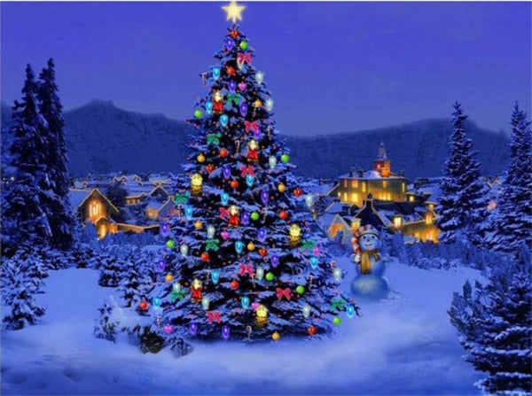 5d Diy Diamond Painting Kits Christmas Tree NW91025