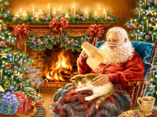 Santa Claus 5D DIY Diamond Painting Kits  NW91028