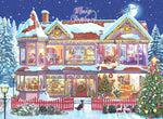 Christmas Village In Winter 5D Diy Diamond Painting Kits NW91053