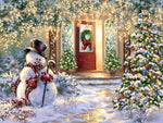 Christmas Snowman 5D DIY Diamond Painting Kits NW91056