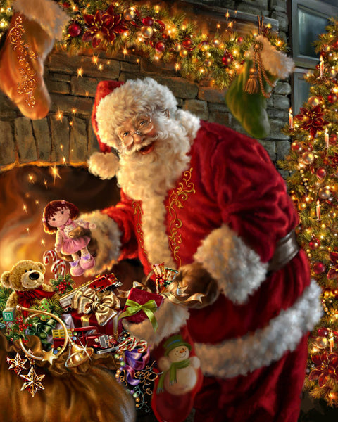 Santa Claus 5D DIY Diamond Painting Kits  NW91061