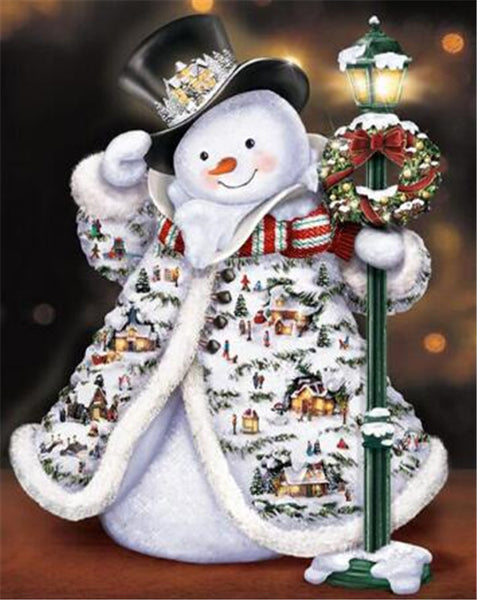 Christmas Snowman 5D DIY Diamond Painting Kits NW91063