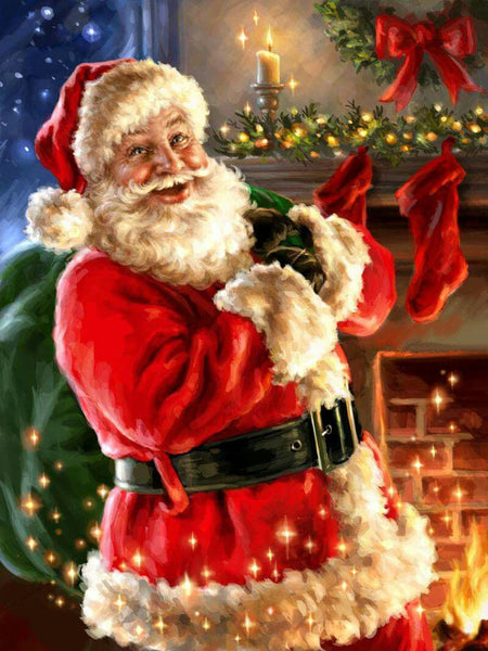 Santa Claus 5D DIY Diamond Painting Kits  NW91080
