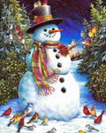 Christmas Snowman 5D DIY Diamond Painting Kits NW91085