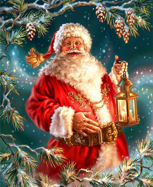 Santa Claus 5D DIY Diamond Painting Kits  NW91133