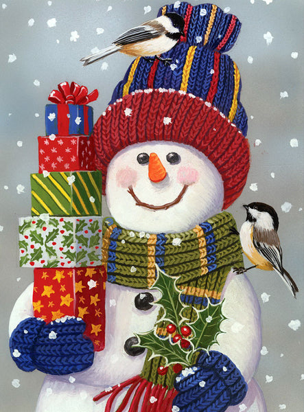 Christmas Snowman 5D DIY Diamond Painting Kits NW91143