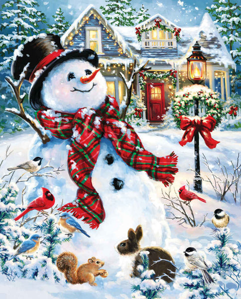 Christmas Snowman 5D DIY Diamond Painting Kits NW91162