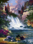 2019 5d Crystal Diamond Painting Kits Waterfall Picture Diy VM20064