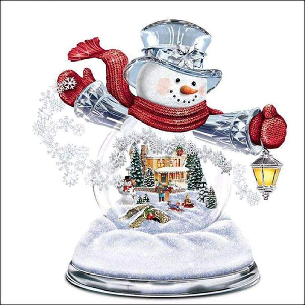 New Arrival Snowman Pattern 5d Diy Diamond Painting Kits QB8002