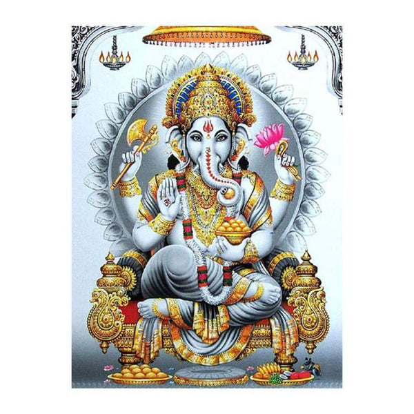 New Hinduism Statue Pattern 5d Diy Embroidery Diamond Painting Kits QB8070