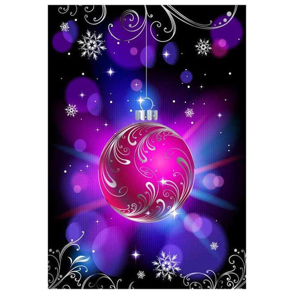 New Christmas Ball Pattern 5d Diy Embroidery Diamond Painting Kits QB8129