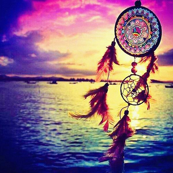 New Dream Catcher Pattern 5d Diy Diamond Painting Kits QB8205
