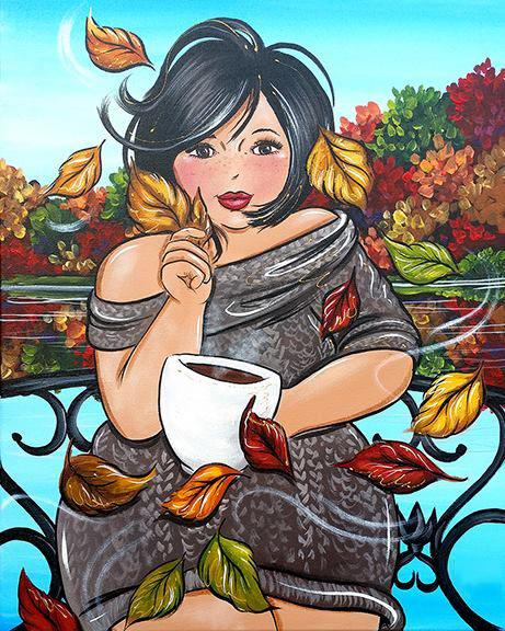 2019 5d Diy Diamond Painting Kits Autumn Girl VM77008