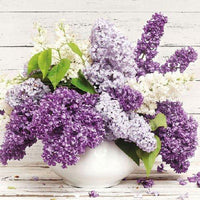 2019 5d Diy Diamond Painting Flower Kits New Lavender  VM3571 (1766999326810)
