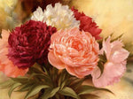 5D DIY Diamond Painting Kits Cross Stitch Art Peony VM92201