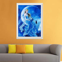 5D DIY Diamond Painting Kits Special Popular Beautiful Fairy VM8026