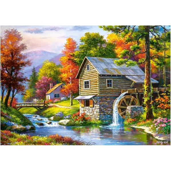 New Arrival Hot Sale Handmade Beautiful Village 5d Diamond Art VM1096