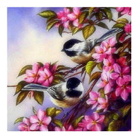 New Arrival Hot Sale Wall Decor Bird Flower 5d Diy Diamond Painting Kits VM8015