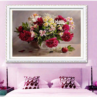 2019 5d Diy Diamond Painting Flowers Kits VM3031 (1766984089690)