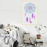 2019 5d Diy Diamond Painting Kits Dream Catcher Feathers VM8358
