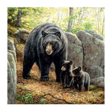 2019 5d DIY Diamond Painting Kits Bear Family In the Nature VM6208