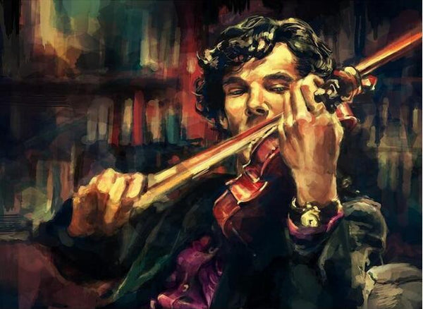 5D Diy Diamond Painting Kits Cross Stitch Sherlock Holmes VM92275