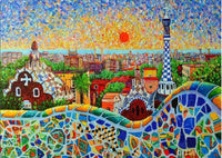 5D DIY Diamond Painting Kits Embroidery Art Spain Sunrise VM92293