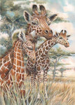 5D DIY Diamond Painting Cross Stitch Kits Giraffe VM92300