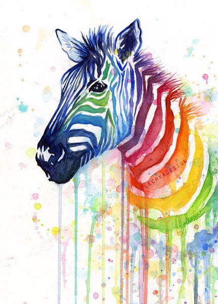 5D Diy Diamond Painting Kits Special Zebra NA00378