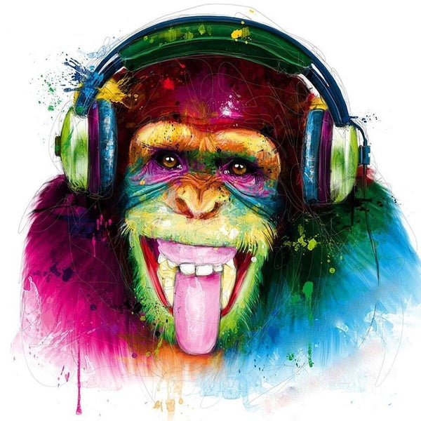 5d Diy Diamond Painting Kits Special Monkey NA0513